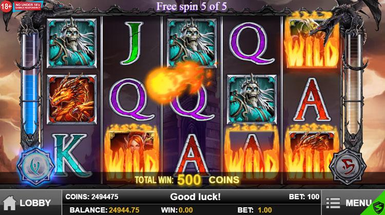 King of cards игровой автомат