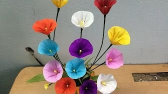 Como Se Hacen Las Flores De Papel Crepe