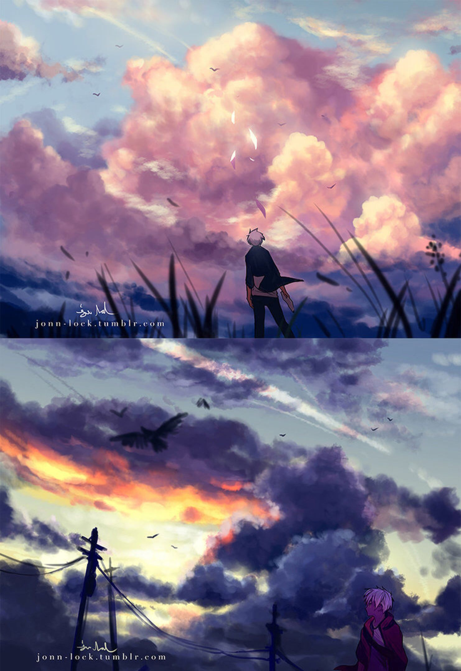 Clouds by Jon-Lock on @DeviantArt