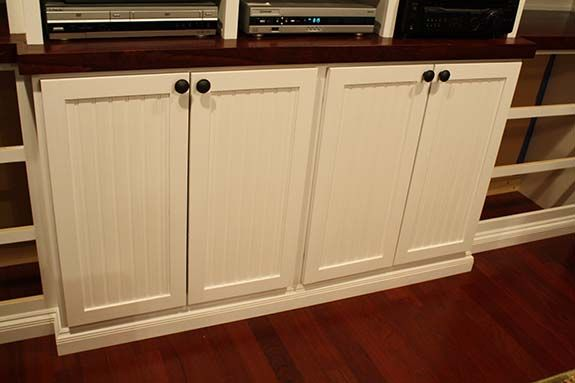 Shaker Style Cabinet Doors With Beadboard Inserts How To