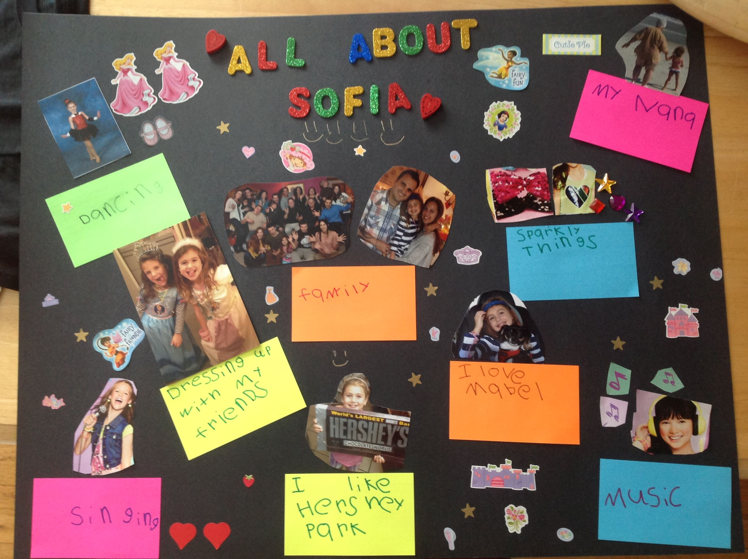 create your own all about me poster : crafts : Pinterest