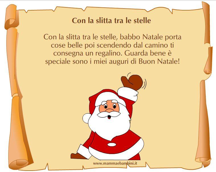 Poesie In Rima Di Natale.Poesie Di Natale Con La Rima Demonflower Babbo Natale