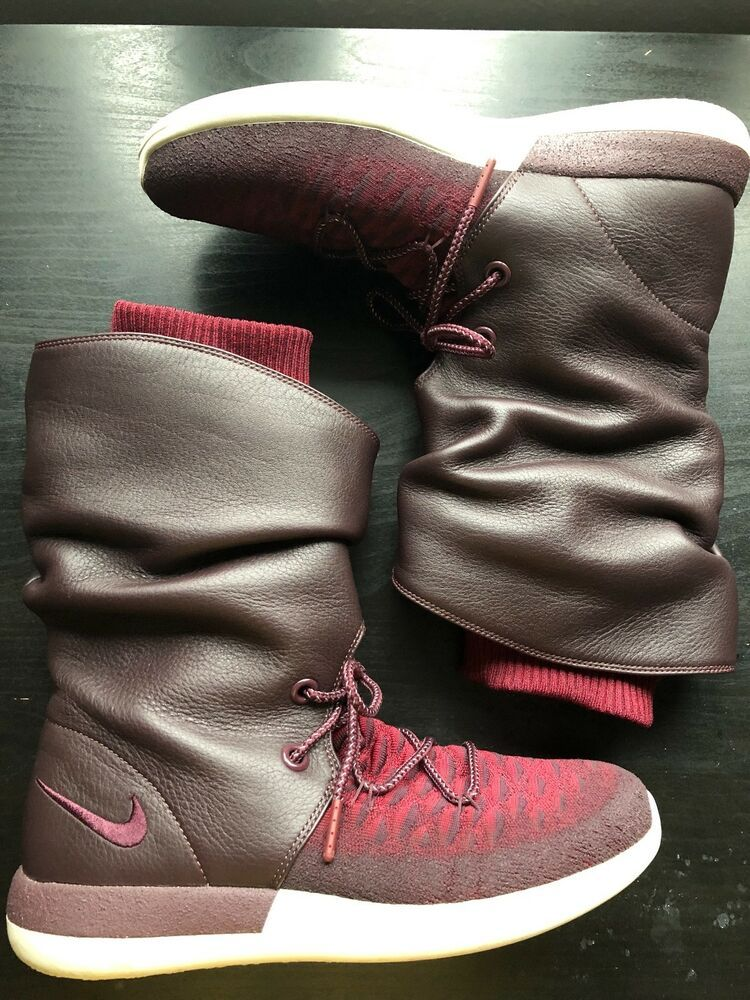 1a3ed04a160 Womens NIKE Roshe Two Hi Flyknit Boots Trainers Sneakers US 9.5   UK ...