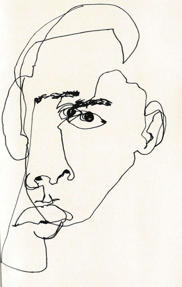 Image result for blind contour drawing worksheet | ART EDUCATION ...