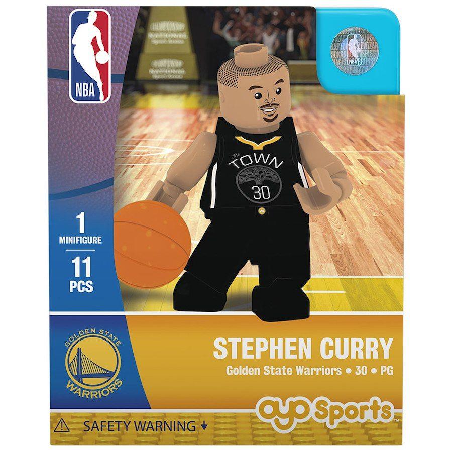 c84a9cbaa3f8 Golden State Warriors Stephen Curry OYO Sports Player Away Jersey Minifigure