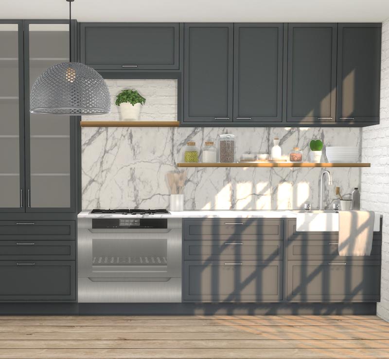 25+ Vast Sims 4 Kitchen Cabinets - Interiors Magazine