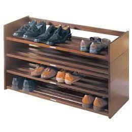 Resultado de imagen para modelo de zapateros de madera for Zapateras modernas para closet