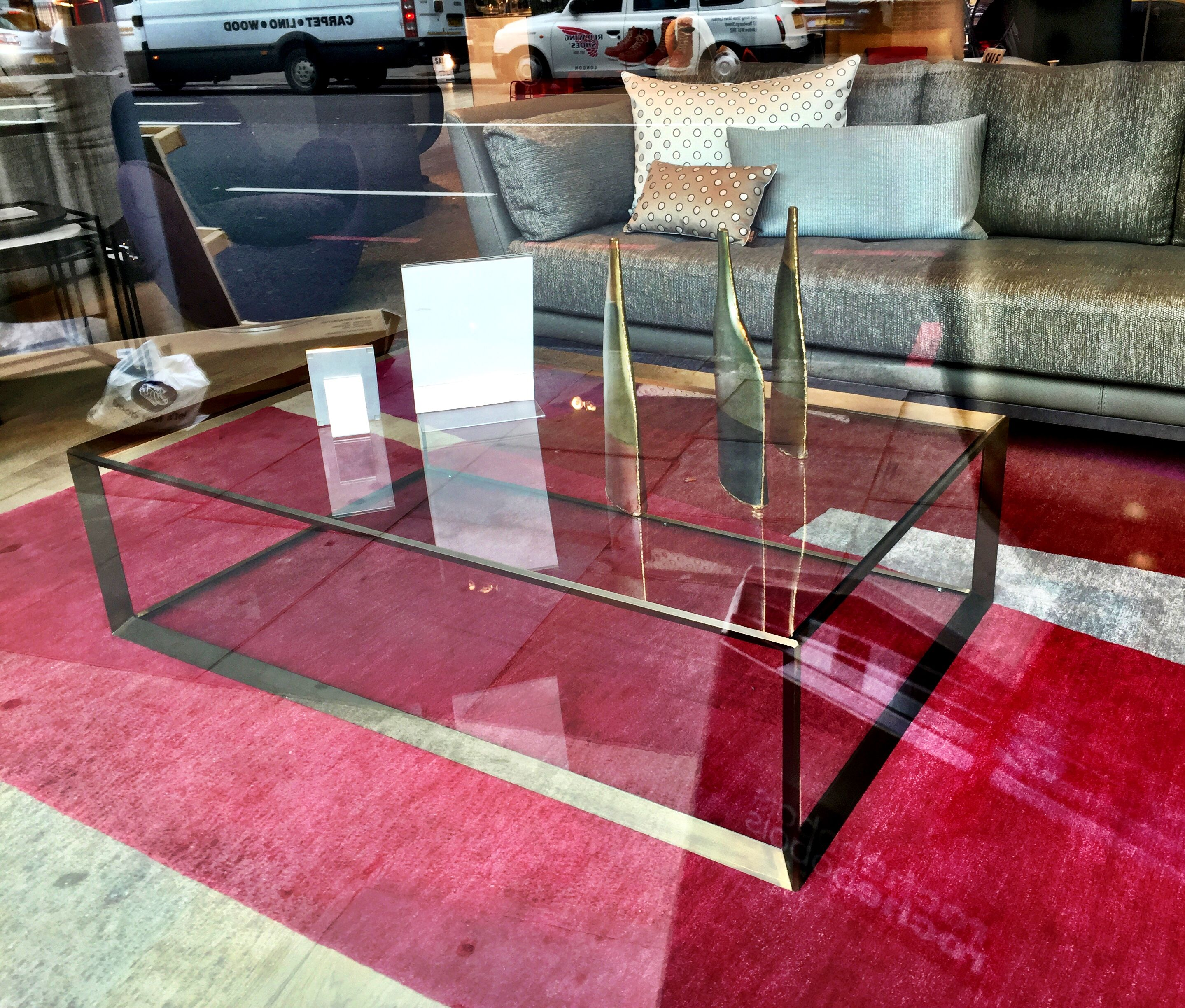 Metallica Coffee Table Roche Bobois 2016 130x35x80cm