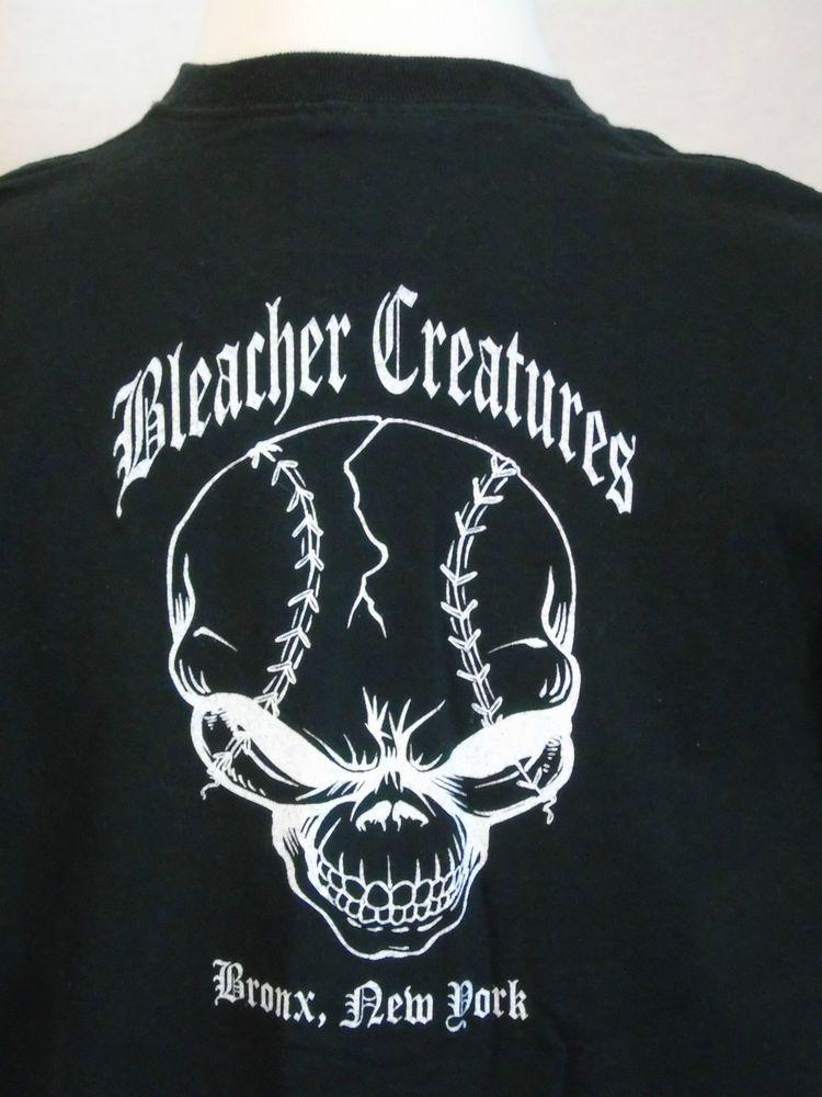 b3e74f4b382838 Bleacher Creatures NY Yankees XL T-shirt Right Field Bronx New York #Yankees  #BleacherCreatures