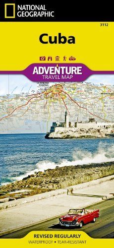 Cuba AdventureMap (National Geographic Adventure Travel Maps) by National Geographic Maps. $10.16. Series - National Geographic Adventure Travel Maps (Book 3112). Publisher: National Geographic Maps; 1 edition (September 28, 2012). Publication: September 28, 2012. Save 15%!