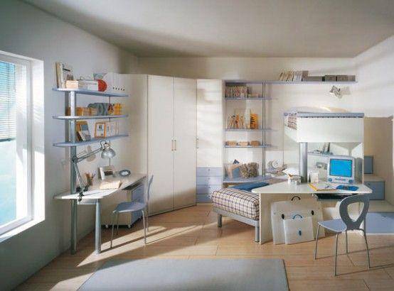 Bright Kids Room Ideas from Sangiorgio Mobili | Deco | Pinterest ...