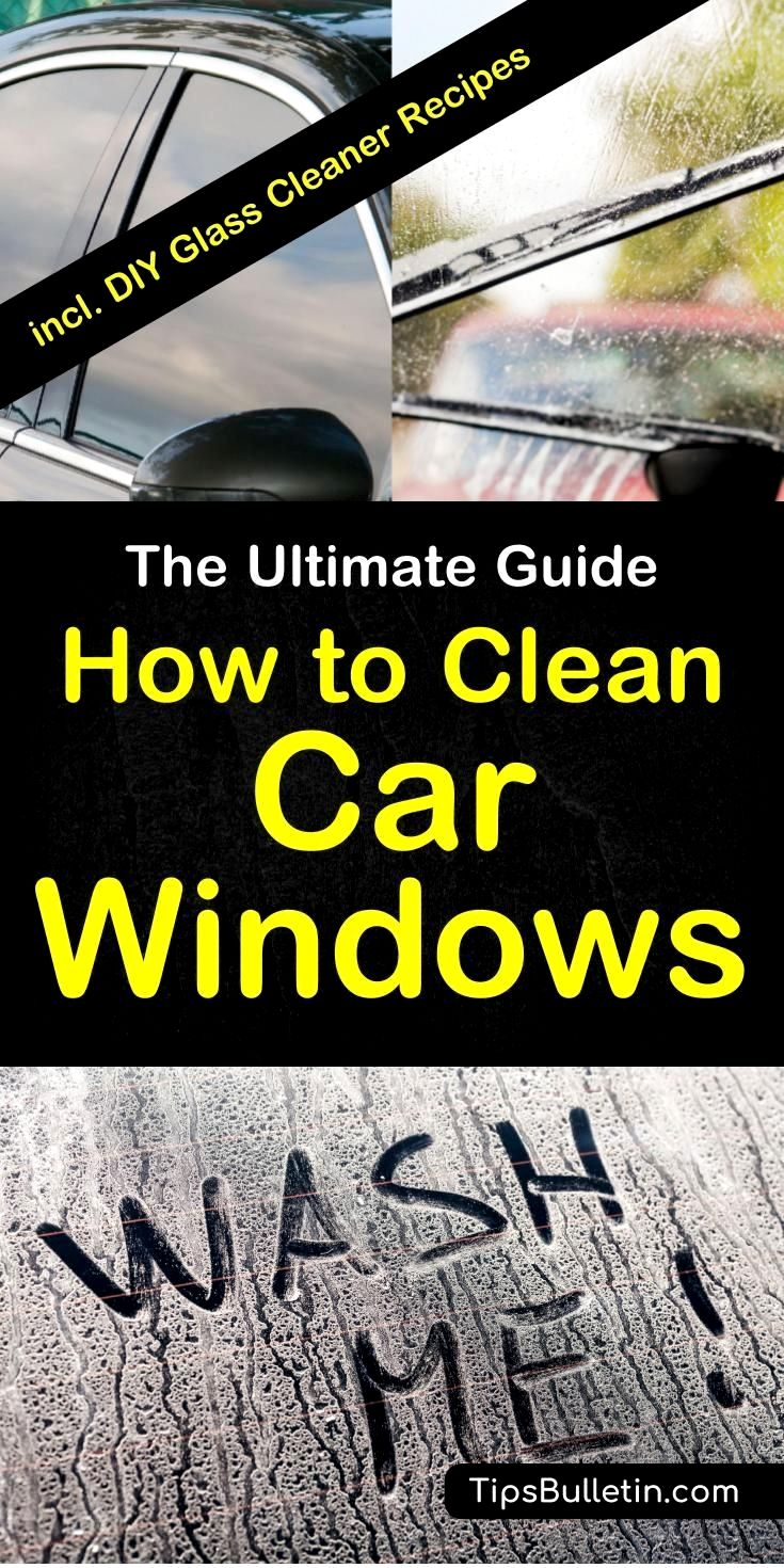 THE MAGIC WAY TO CLEAN YOUR WINDOWS (With images