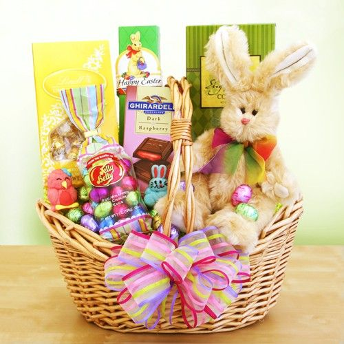 Sweet treats easter gift basket easter baskets easter gift easter sweet treats easter gift basket negle Choice Image