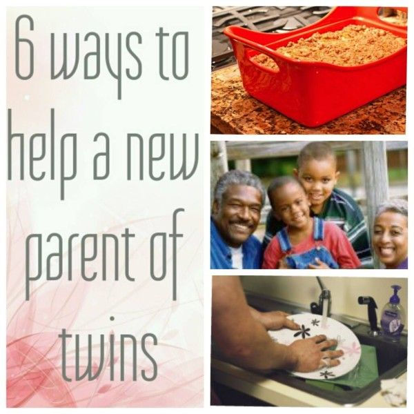 How To Help A New Parent of Twins