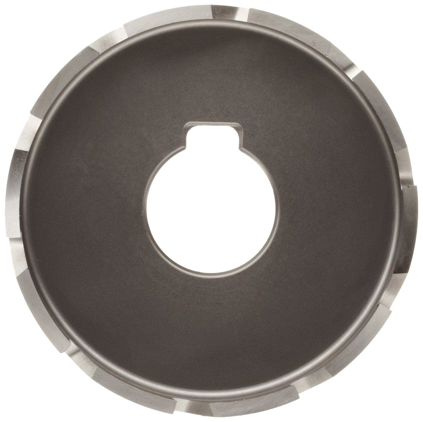 Jancy Slugger High Speed Steel Sheet Metal Cutter Uncoated Bright Finish Key Driven Shank 1 4 Depth 2 Steel Sheet Metal Sheet Metal Cutter Metal Cutter