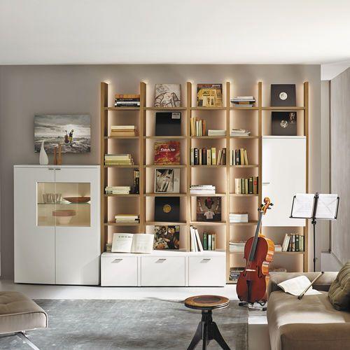 Mueble de salón moderno / de roble NURIA hülsta | DECORACION ...