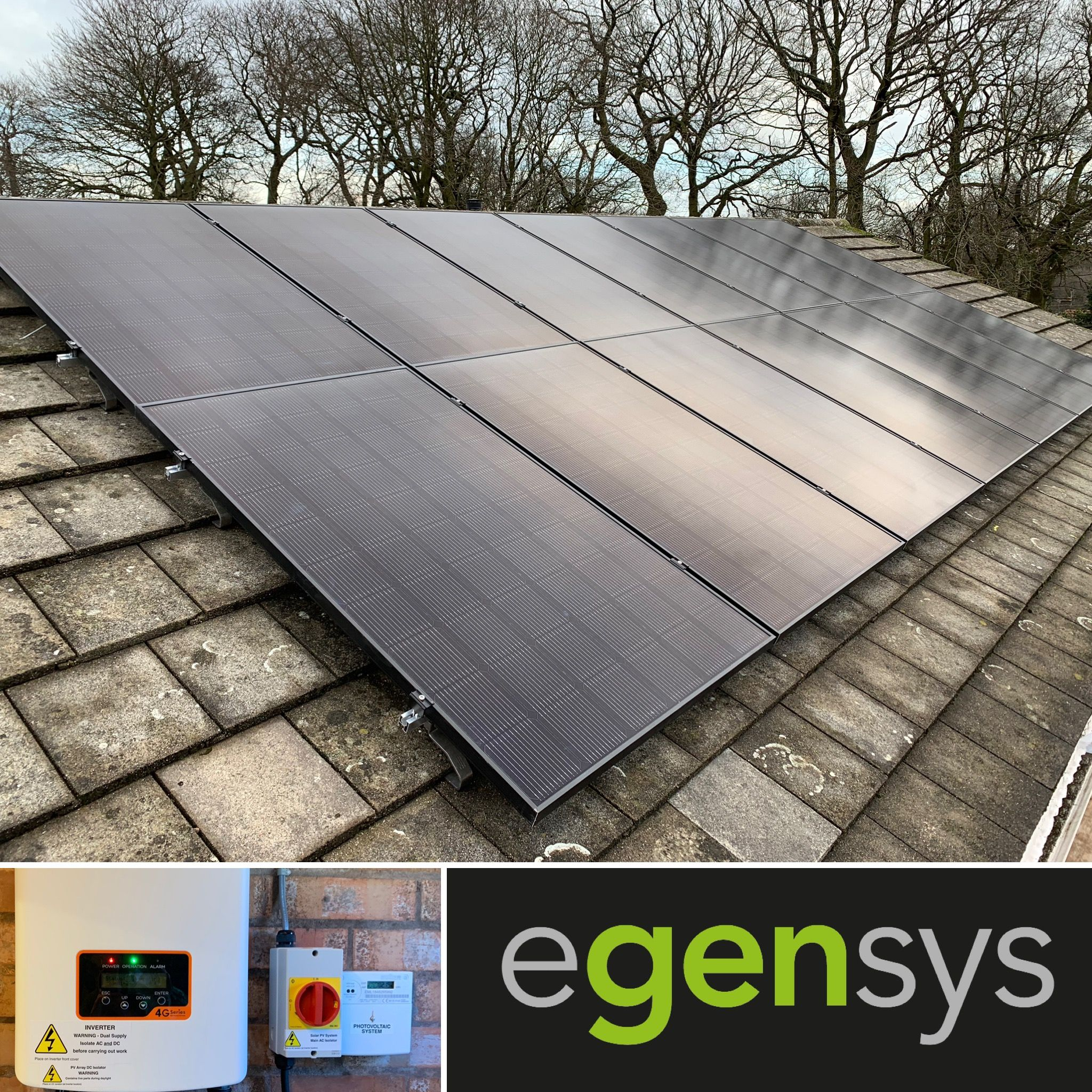 4 48kw Solar Panel System Using 14 Lg 320w Lg320n1k V5 All Black Pv Modules With A Solis 3 6 Inverter Installed In Ravenshe Solar Solar Panel System Solar Pv
