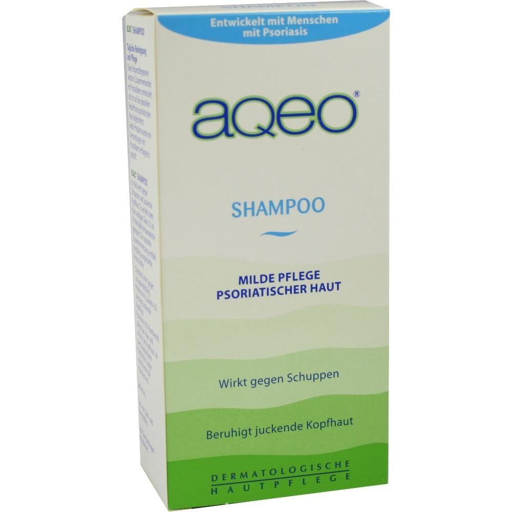 AQEO Shampoo:   Packungsinhalt: 200 ml Shampoo PZN: 02296938 Hersteller: ALMIRALL HERMAL GmbH Preis: 7,30 EUR inkl. 19 % MwSt. zzgl.…