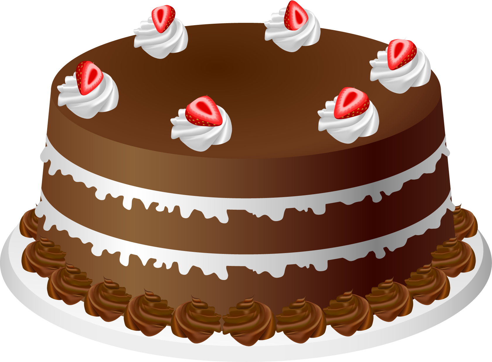 Chocolate Cake With Strawberries Using For Play Doh Mat Counting Candles Cake Chocolate Strawberry Cake Pumpkin Spice Cake