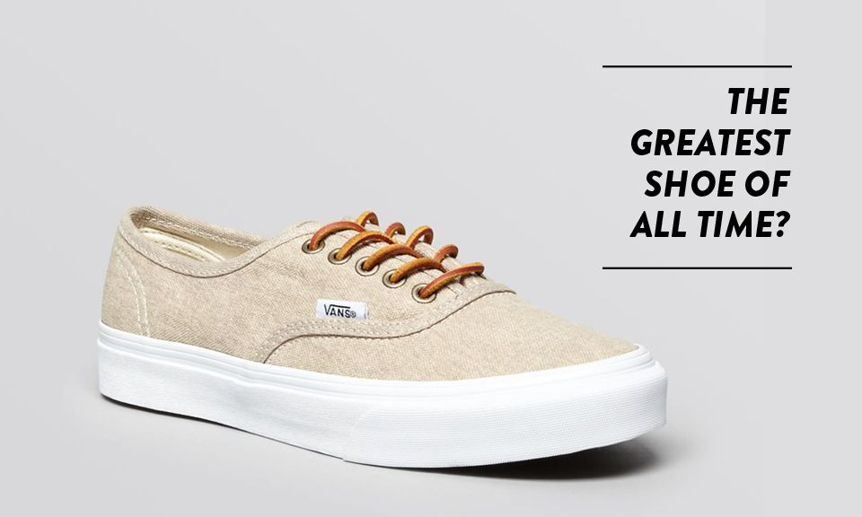 Why the Vans Authentic is the Best Shoe Ever | Highsnobiety