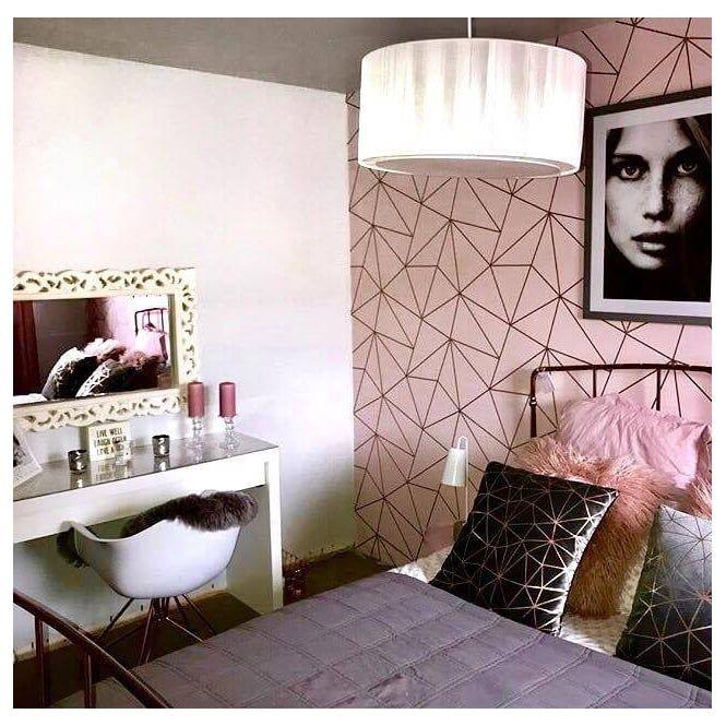 Zara Shimmer Metallic Wallpaper Soft Pink Rose Gold Gold Wallpaper Living Room Rose Gold Bedroom Pink Bedroom Decor