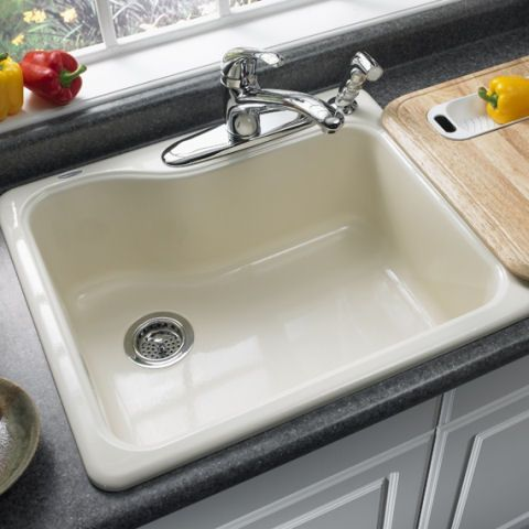 silhouette single bowl kitchen sink american standard kitchen ...
