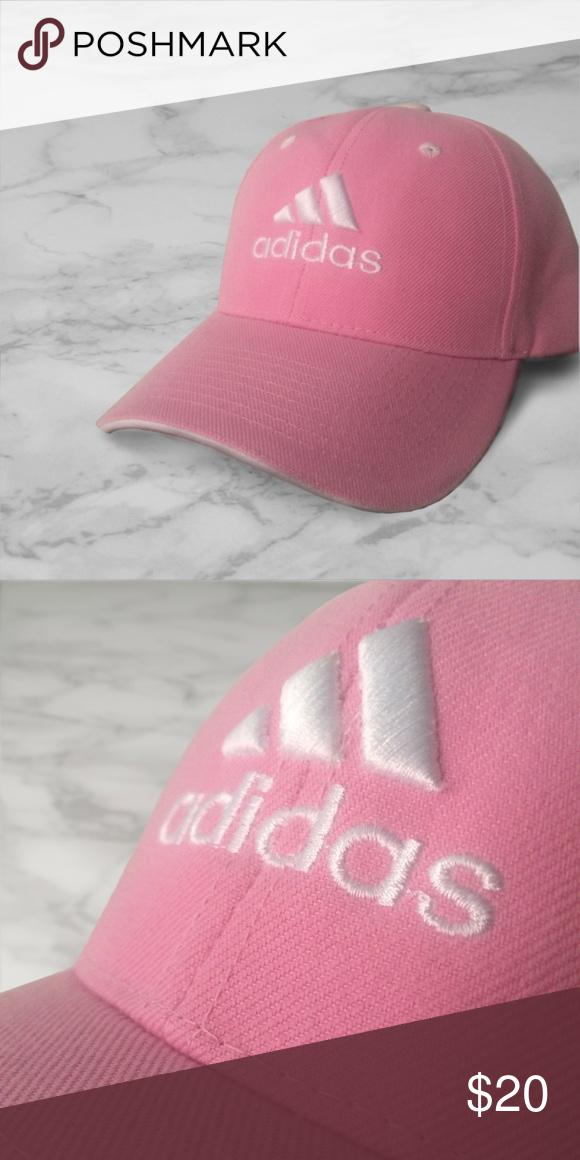 861a3b5fb19 Pink Adidas Baseball Cap Adjustable pink adidas inspired logo baseball cap.  Brand new without tags. Adidas Accessories Hats