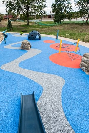 Pebbleflex 174 Playground Safety Surfacing Landscape L