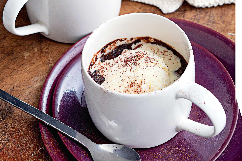 Microwave Mocha Mug Cake Recipe. It is a tasty and yummy ...