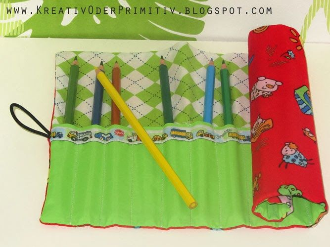 Kreativ oder Primitiv?: Stiftrolle für Kinder