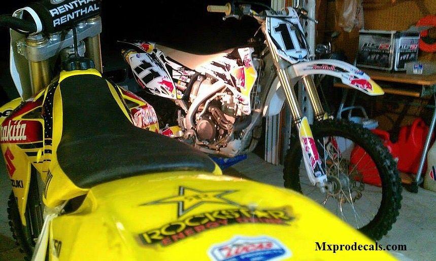 Get 100% Satisfaction Guaranteed ON MYGRAPHIC KITS Motocross Graphics, Enduro Graphics & ATV Graphics.