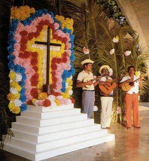 El Velorio De Cruz De Mayo Es Una Manifestacion Cultural Religiosa