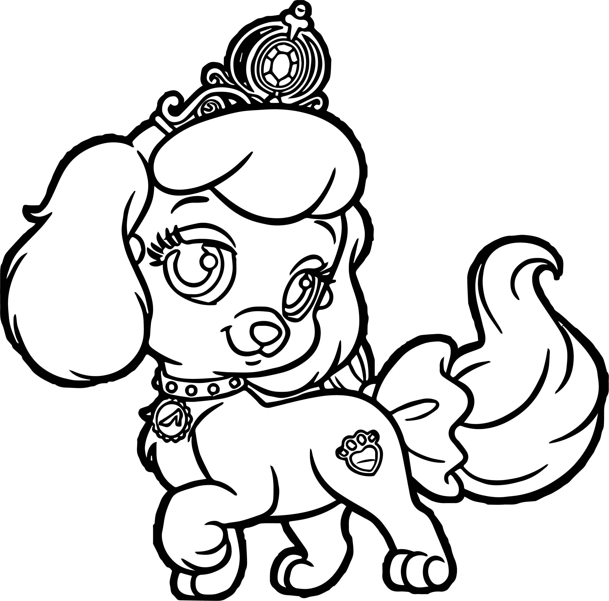 Girl Pumpkin Pup Puppy Dog Coloring Page Puppy Coloring Pages Animal Coloring Pages Dog Coloring Book