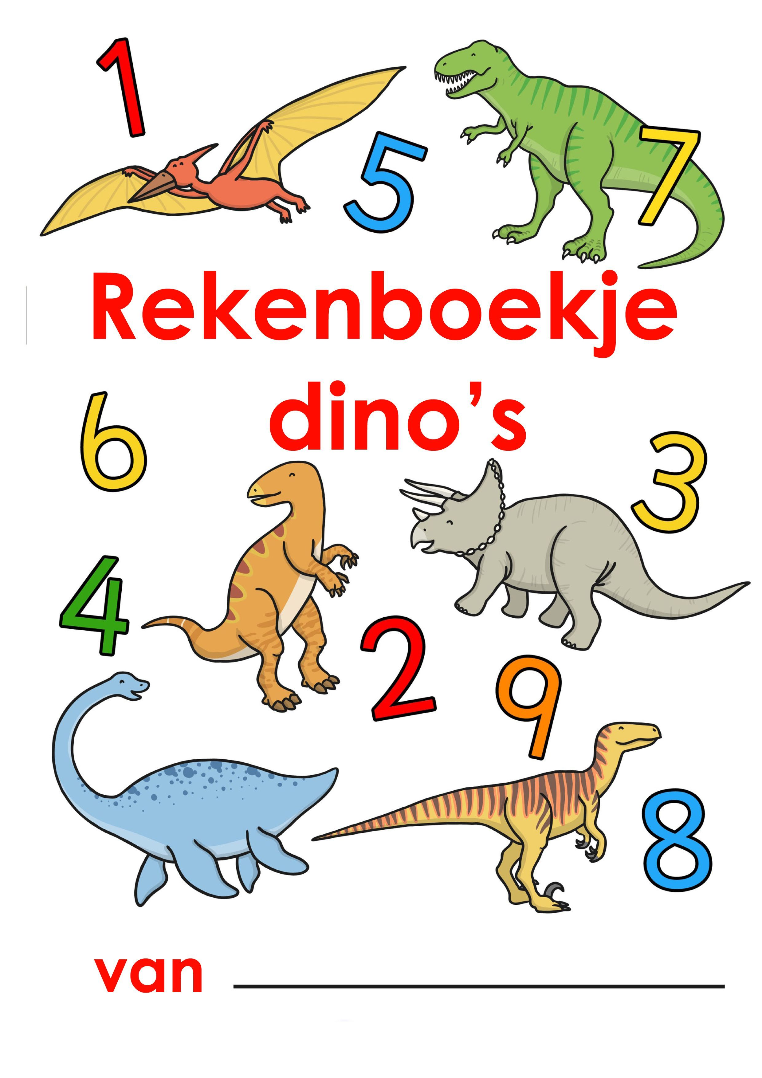 Werkblad Rekenen Dinos Archaeology Prehistory Bovenbouw