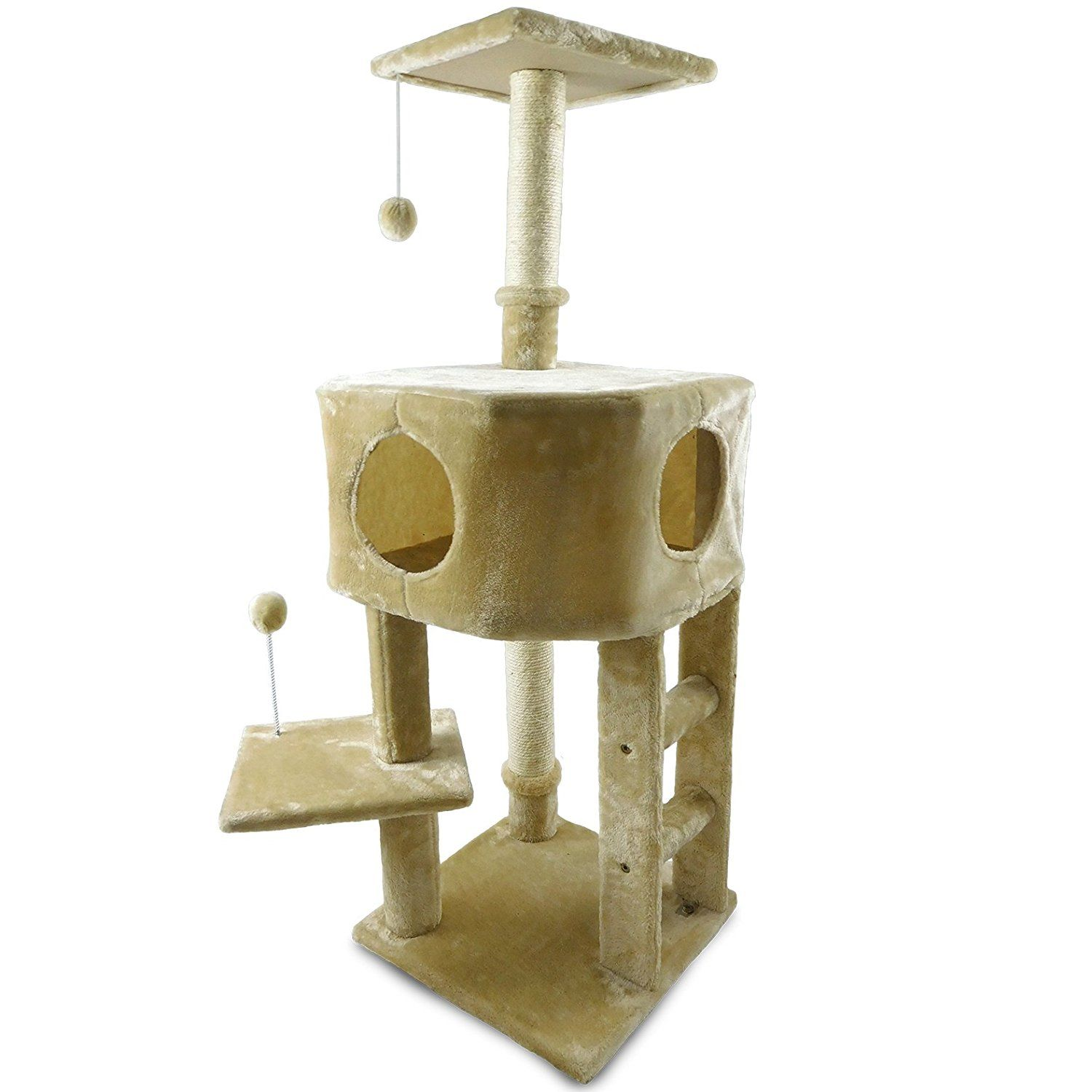 Tiger Tough Cat Tree House Furniture For Kittens And Cats Multiple Color Style Cat Condos 45 To 60 Ta Cat Tree House Modern Cat Tree Cat Playground Outdoor