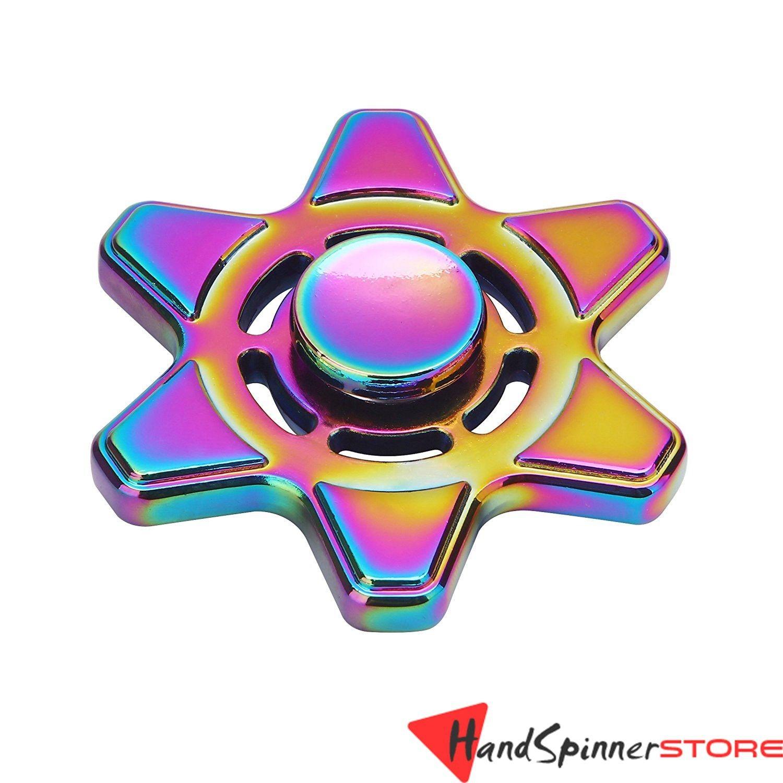 FS318 Rainbow Metal Fid Spinner Hand Spinner Toy