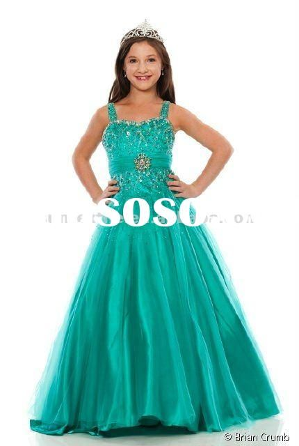 girls pageant dresses - Google Search | «:*´`³¤³´`*:»»Madison White ...
