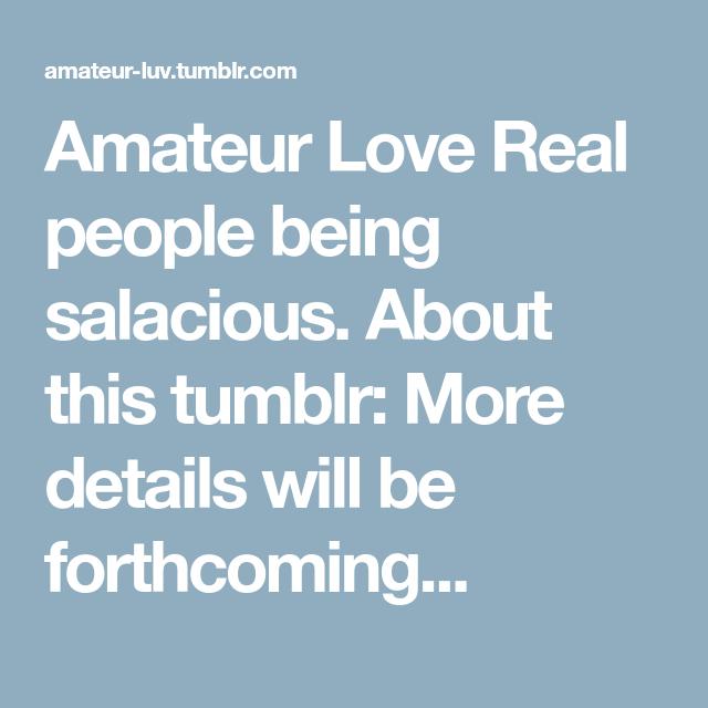tumblr Amateur luv