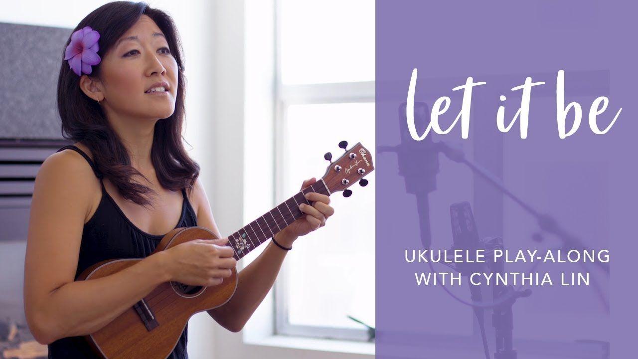 Cynthia Lin Christmas Jam 2020 Youtube Beatles   Let It Be (Cover) // Cynthia Lin Ukulele Play Along