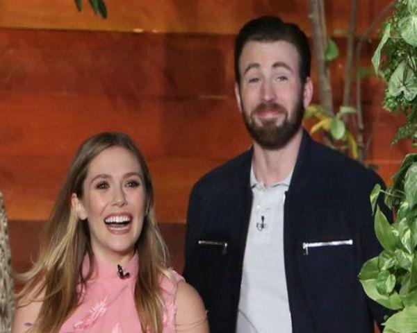 Captain America Civil War Cast Chris Evans Elizabeth Olsen Announce Engagement On Ellen M Captain America Civil War Captain America Civil America Civil War