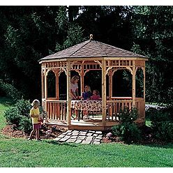 I always wanted a Gazebo - this one is beautiful