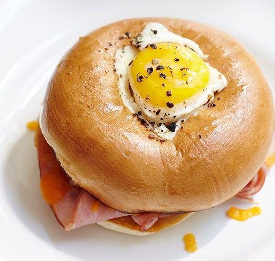 Bagel Egg Sandwich Recipe - 4u1s