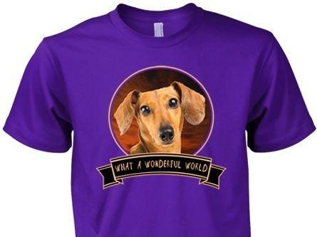 Dachshund Wonderful World Shirt 2