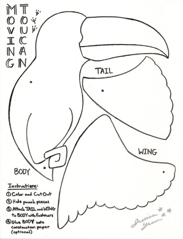Toucan By Jessicayeanviantart On Deviantart