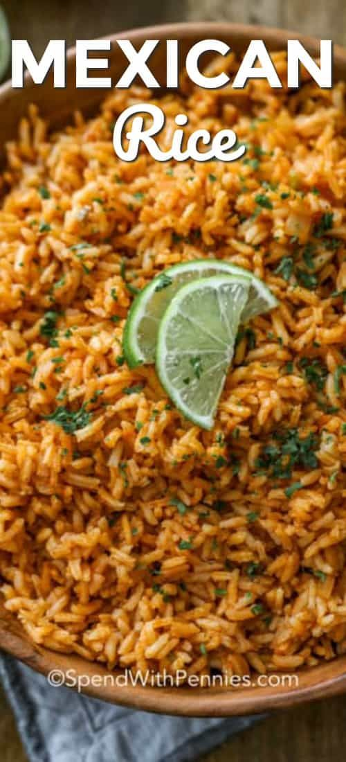 Mexican Rice - Spend With Pennies