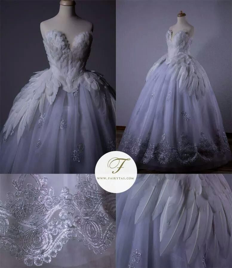 My take on the Swan Princess Odette dress #fairytas