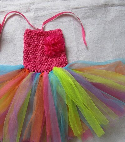 Baby/Toddler Chiffon Tutu Dress 0-24 months. $12.00, via Etsy.