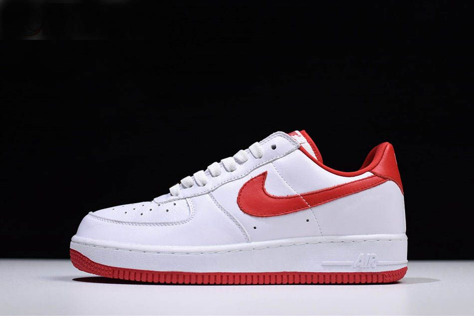 Nike Air Force 1 Low Retro Ct16 Qs Fo Fi Fo White University Red