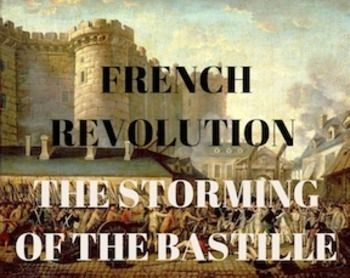 what are the four stages of the french revolution