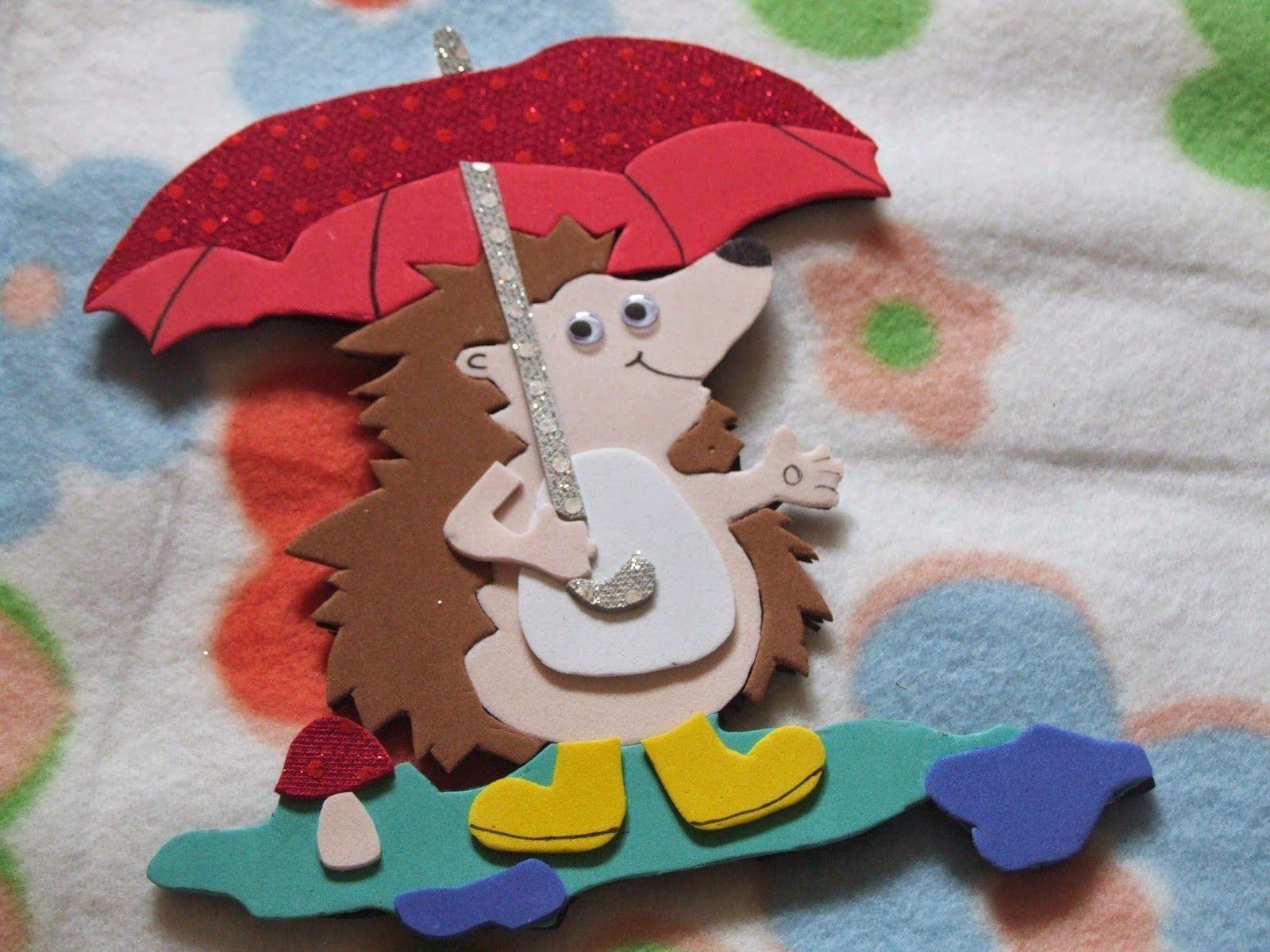 Süni(ének) az esőben (With images) Sün, Ének az esőben